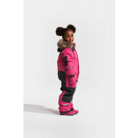 Didriksons Biggles Kid's Mittens 3 Plastic Pink