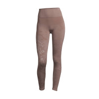 Casall Seamless Skin Tights Grounded Brown