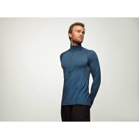 Devold Running Man Zip Neck Anthracite