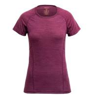 Devold Running Woman T-Shirt Plum