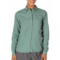 ExOfficio Women's BugsAway Breez'r Long Sleeve Shirt Rosemary