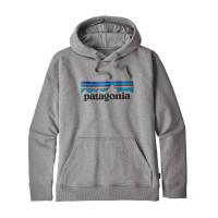 Patagonia M P-6 Logo Uprisal Hoody Gravel Heather