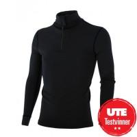Brynje Classic Zip Polo Shirt Black