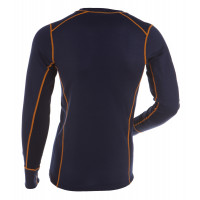 Gridarmor M's Shirt LS 100% Merino Twilight Blue/Eclipse