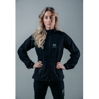 Hellner Harrå Hybrid Jacket Women Jet Black