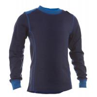 Matso Kids Shirt LS 100% Merino Twilight Blue/Skydiver