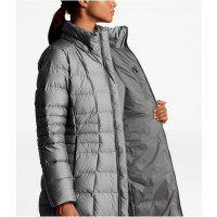 The North Face W Metropolis Parka Ii Tnf Medium Grey Heather