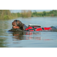 Non-Stop Dogwear Safe Life Jacket Red/Black 6