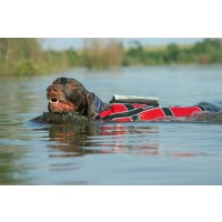 Non-Stop Dogwear Safe Life Jacket Red/Black 5