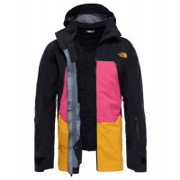 The North Face Men's Purist Tri Jacket Tnfblack/Mr.Pnk/Zinniaorg