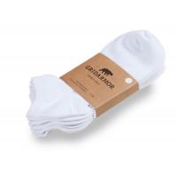 Gridarmor Bamboo Ankle Sock 3-pakk White
