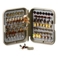 Orvis Posigrip Threader Fly Box S Khaki