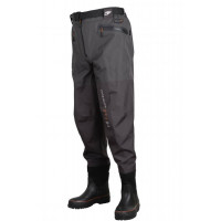 Scierra X-16000 Waist Wader Boot Foot Cleated Grey