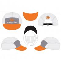 Orange Mud The Squishy Hat White/Gray/Orange