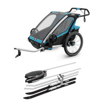 Thule Chariot Sport 2 Inkludert Langrennsett