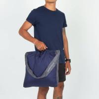 Ticket To The Moon Eco Market Bag Navy/Dark Grey 46 x 42 cm