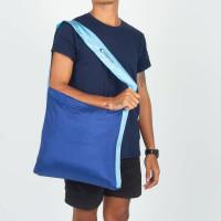 Ticket To The Moon Eco Market Bag Blue/Sky Blue 46 x 42 cm