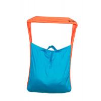 Ticket To The Moon Eco Super Market Bag Aqua/Orange 58 x 50 cm