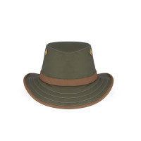 Tilley The Twc7 Outback Hat Green/British Tan Trim