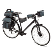 Velova Top Tube Bag Rock / Blue
