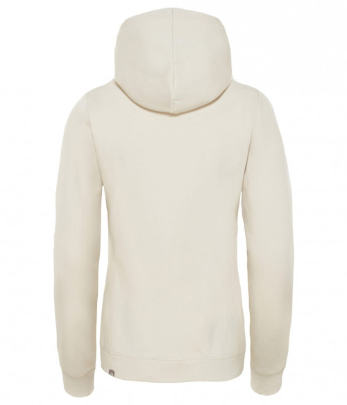 The North Face Women's Drew Peak Pullover Hoodie Vintage White/Spiced Coral