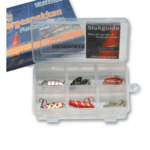 Sølvkroken Norgespacken för färskvatten 6stk