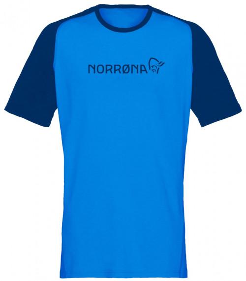 Norrøna Fjørå Equaliser Lightweight T-Shirt (M) Hot Sapphire
