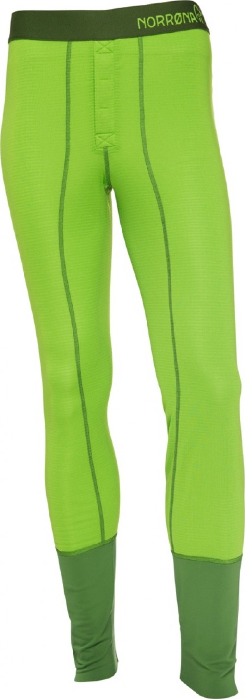 Norrøna Super Longs (M) Bamboo Green