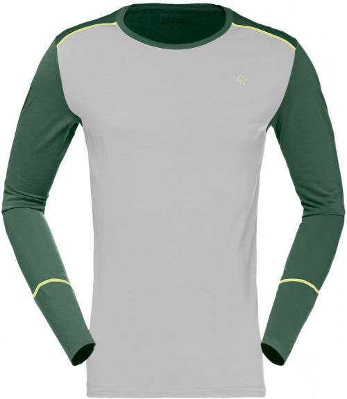 Norrøna Wool Round Neck (M) Jungle Green