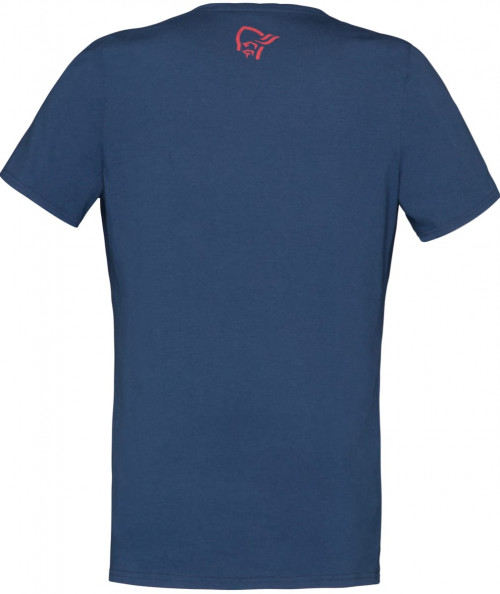 Norrøna /29 Cotton Id T-Shirt (W) Crisp Ruby