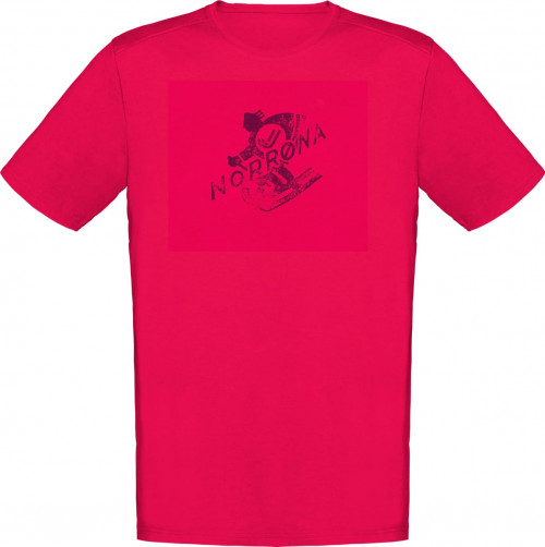 Norrøna /29 Cotton Heritage T-Shirt (M) Jester Red