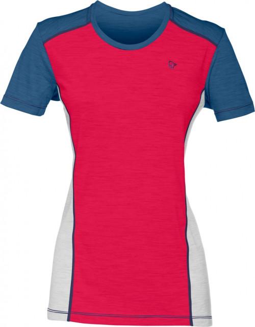 Norrøna Wool T-Shirt (W) Jester Red/Denimite
