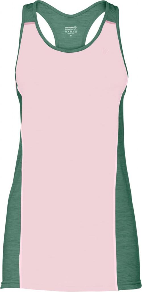 Norrøna Wool Singlet (W) Candy Pink