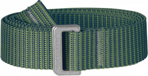 Fjällräven Striped Webbing Belt Fern-Frost Green