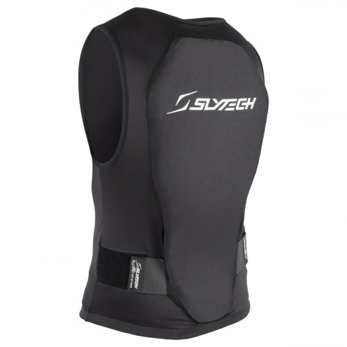 Slytech Vest Backpro Flexi Zip  Xt Snow Black