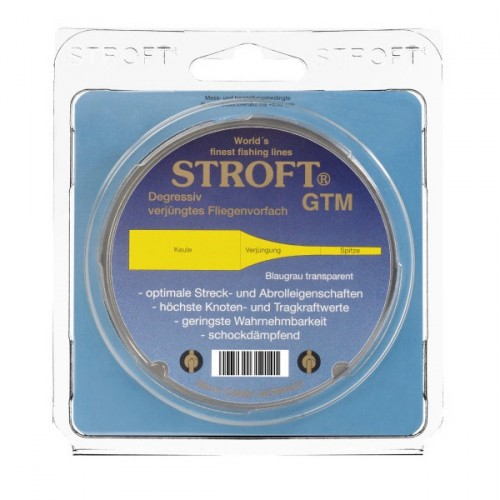 Stroft Fly Leader 15' 470cm Flugtafs