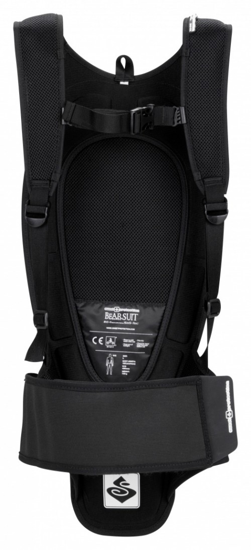 Sweet Protection Bearsuit Backprotector Soft True Black