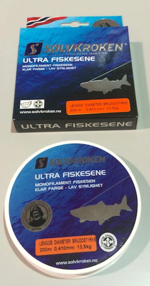 Sølvkroken Ultra Lina 0,46mm 200m 13,5kg