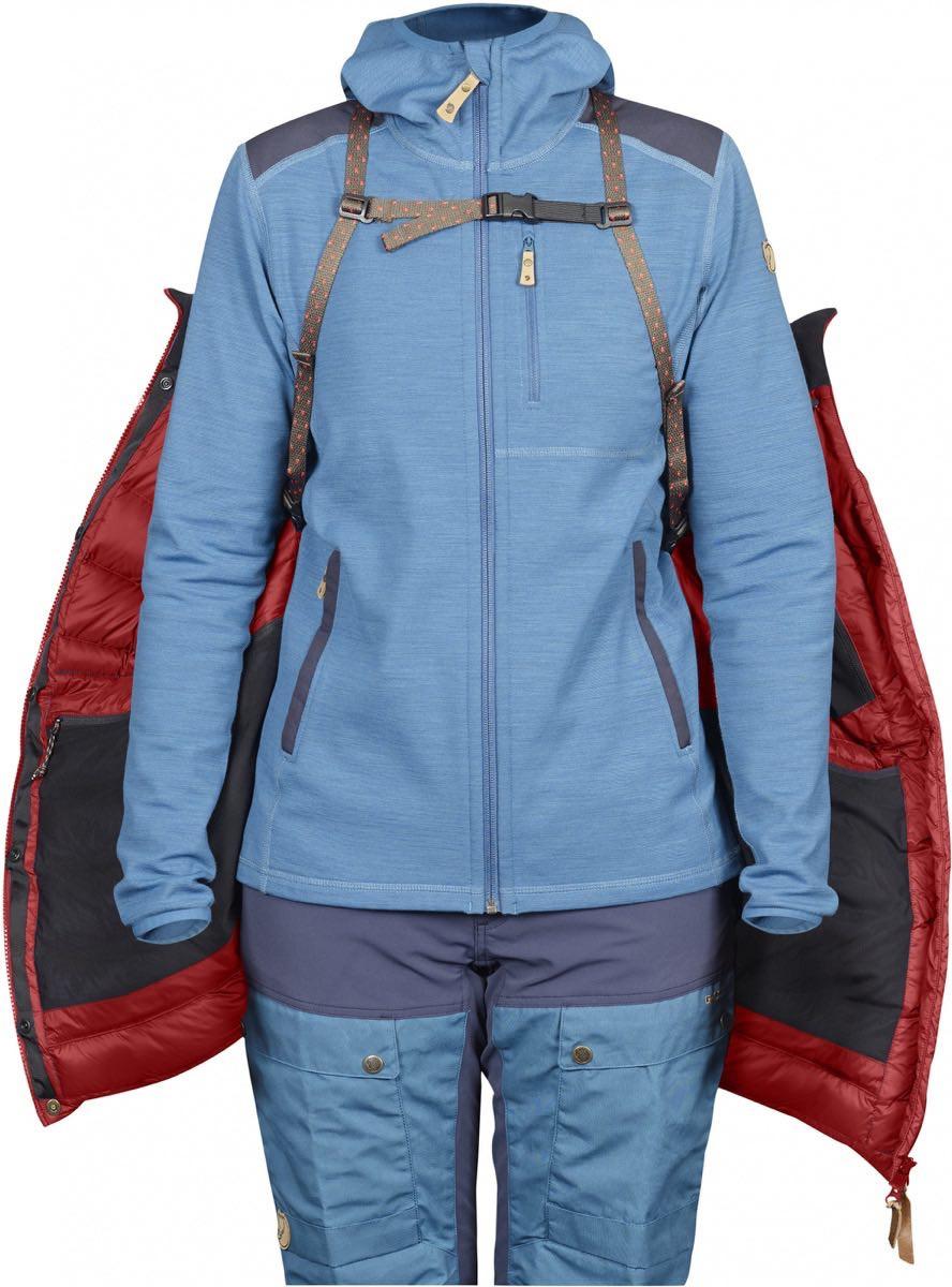 ... Fjällräven Keb Expedition Down Jacket Women s Storm-Night Sky ... 8750afd0a33ee