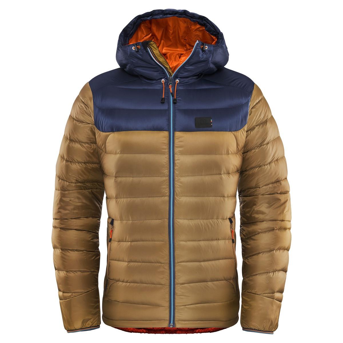 4d4ddbedd33 E11 Men's Agile Jacket Pecan Brown E11 Men's Agile Jacket Pecan Brown ...