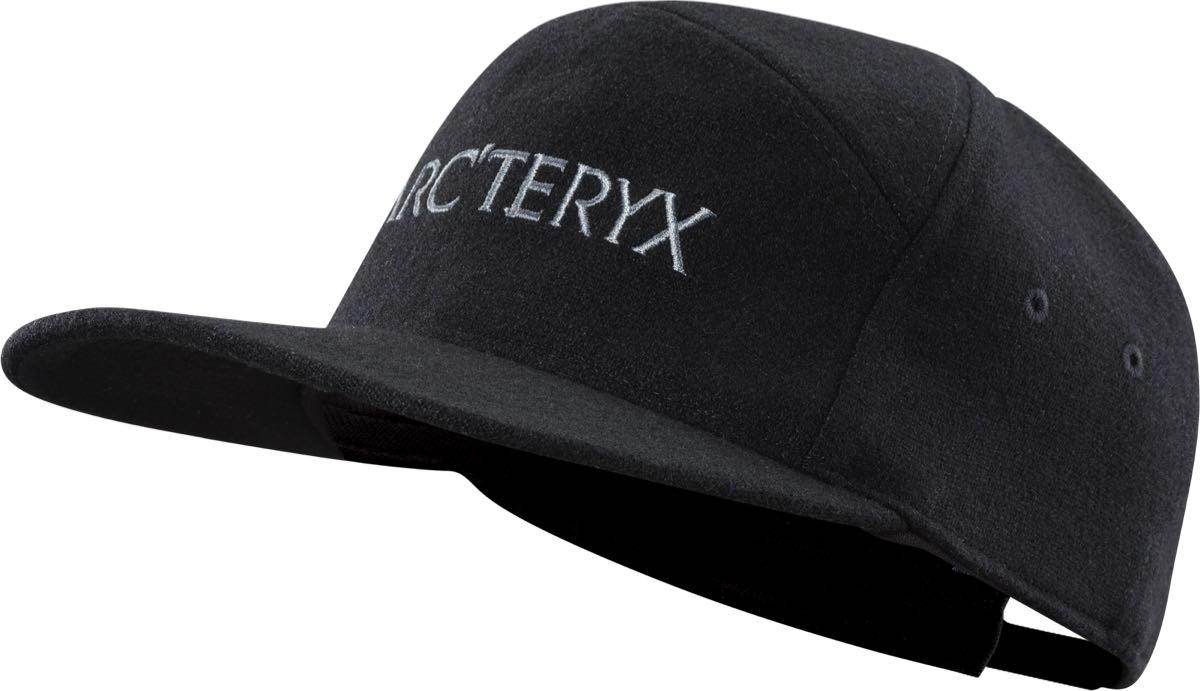 ... Arc teryx 7 Panel Wool Ball Cap Black ... 45749cb3051c1