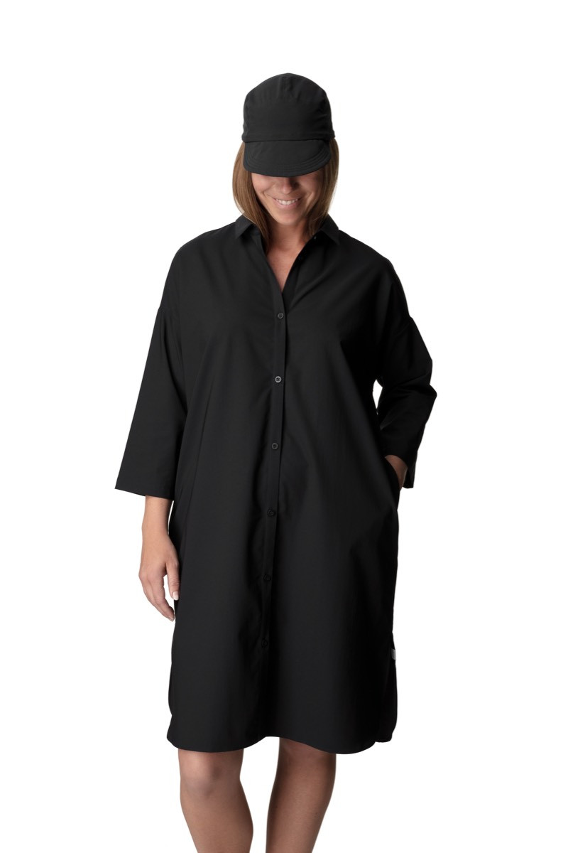 44bff8a58c2f Houdini W's Route Shirt Dress True Black | Tindeberg.se