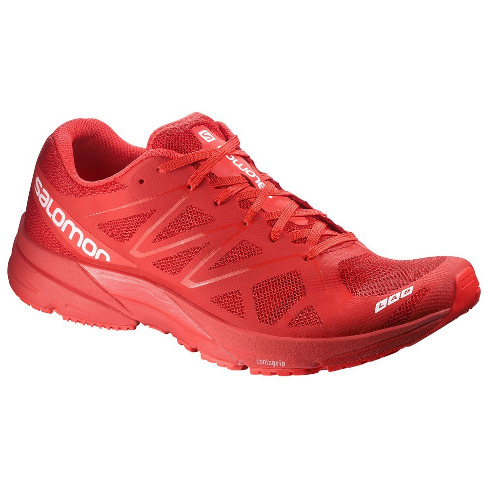 new concept 1429e 6948f ... Salomon S-Lab Sonic Racing Red Racing Red White ...