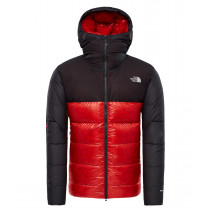 The North Face M Summit L6 Aw Down Belay Parka Fiery Red/Tnf Black
