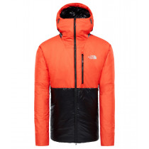 The North Face M Summit L6 Aw Synthetic Belay Parka Tnf Black/Fiery Red