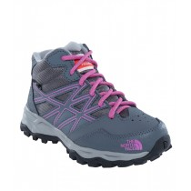 The North Face Jr Hedgehog Hiker Mid Waterproof Zncgy/Wistriapr