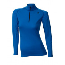 Aclima Warmwool Mock Neck Shirt Women's Brilliant Blue
