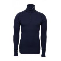 Brynje Arctic Zip Polo Shirt Navy