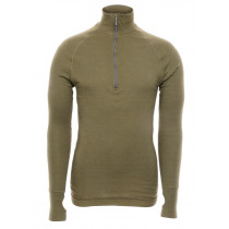 Brynje Arctic Zip Polo 3/4 Neck Olivegreen