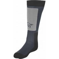 Norrøna Lofoten Mid Weight Merino Socks Long Cool Black